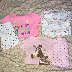 3 Pair of 24 month - Infant Girl - Pajamas